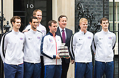 2015-12-01 Great Britain's Davis Cup team visit Downing Street