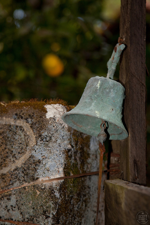"""""""Bell in San Sebastian, Mexico"""" - This old bell was photographed in the small mountain town of San Sebastian, Mexico."""