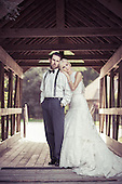 Erin & AJ married at Ancaster Mill