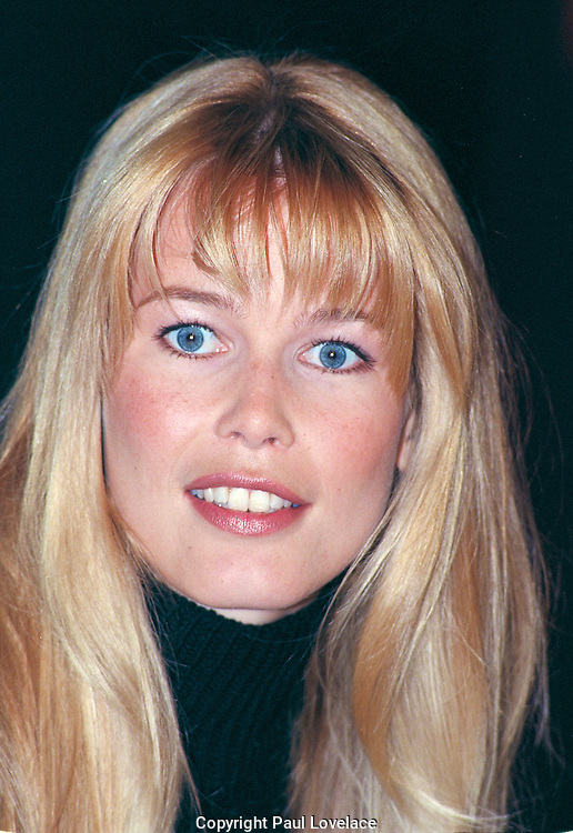 Arts Culture and Entertainment Claudia Schiffer. Editorial Stock Image ...