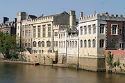 The Guildhall York, on the banks of the River Ouse.