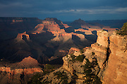 Yaki Point, South Rim of Grand Canyon National Park in Arizona.