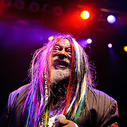 April 12, 2010 (Washington, D.C.) - George Clinton and Parliment Funkadelic perform at the 9:30 Club.  (Photo by Kyle Gustafson)