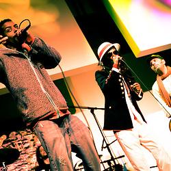 Washington, DC, December 4, 2010 - See-I plays Artisphere