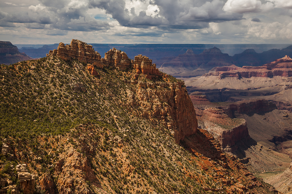 The Sinking Ship  of Grand Canyon National Park.