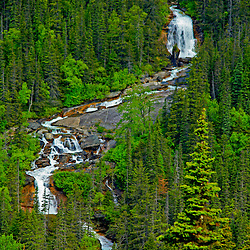 Waterfalls, Skagway, Alaska