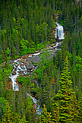 Waterfalls, Skagway, Alaska
