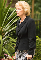 Downing Sreet, London, July14th 2015. Anna Soubry - Minister for Small Business, Industry and Enterprise arrives at 10 Downing street for the government's weekly cabinet meeting.