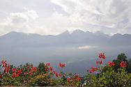 Smoky mountain of Switzerland