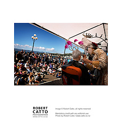 The Toyota Festival Picnic series brings free outdoor entertainment to Frank Kitts Park on Wellington's Waterfront as part of the New Zealand International Arts Festival 2004.