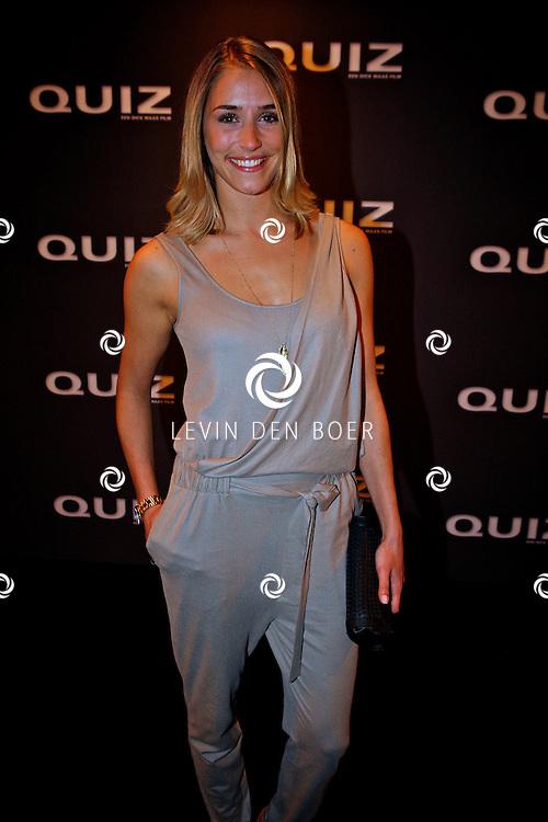 AMSTERDAM - In het Tuschinski theater is de Nederlandse film Quiz in premiere gegaan.  Met op de foto Suzanne Smorenburg. FOTO LEVIN DEN BOER - PERSFOTO.NU