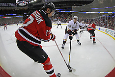 February 17, 2012: Anaheim Ducks at New Jersey Devils