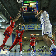 St. John's Guard Danaejah Grant (15) attempts to grab the rebound in the first half of a NCAA regular season non-conference game between Delaware (CAA) and St. John's (Big East) Monday, Dec 30, 2013 at The Bob Carpenter Sports Convocation Center in Newark Delaware.