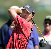 24 February 2006: Mike Wier tees off on the 8th hole on during day three of the 2006 World Golf Championships Accenture Match Play Championships in Carlsbad, CA.