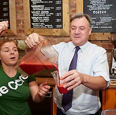 NOV 28 2013 Shadow Chancellor Ed Balls visits Swindon