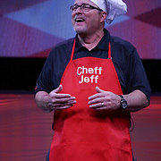 "Cardinal Health RBC 2016. Closing Session Deep Dish Dollars contest with ""Chef Jeff"", Jeff Brannon (VP Retail Independent Buying Groups). Photo by Alabastro Photography."