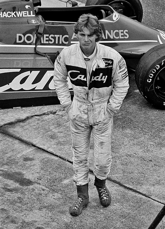At 19 years and 182 days old, New Zealander Mike Thackwell became the youngest driver ever to start a World Championship Grand Prix when he qualified his Candy Team Tyrrell-Ford for the 1980 Canadian Grand Prix. Here, a week later, he attempted to repeat the feat at the US Grand Prix at Watkins Glen, but his Tyrrell-Ford let him down. As an 18-year old, he had been rated as one of the rising stars of the future after he burst into the 1979 Vandervell British Formula 3 series, with five wins and finished 3rd in the championship. After his debut in Formula One he expected to stay, but finding no competitive Formula 1 opportunity in 1981, he returned to racing in Formula 2. He won his first race at Silverstone from pole, but suffered a huge crash a month later that damaged his legs and ended his season. He returned in 1982 on a shoestring budget and finished 10th, finished 2nd in 1983, and finally winning the European Formula 2 title in dominating form in 1984. He continued to look for a Formula 1 seat while winning in Formula 3000 and for Mercedes in the 1986 Nurburgring 1000. When those efforts failed to reward him with a full-time Formula 1 drive, he walked away from the sport forever. He was just 26-years old.