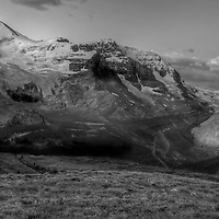Columbia Icefields Sunrise, Jasper National, Park, Alberta, Canada