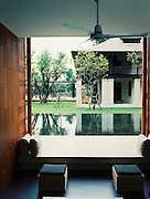 View of the former British Consul's residence at The Chedi, Chiang Mai