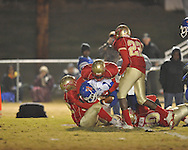 Lafayette High vs. North Pontotoc in high school football playoff action in Oxford, Miss. on Friday, November 5, 2010.