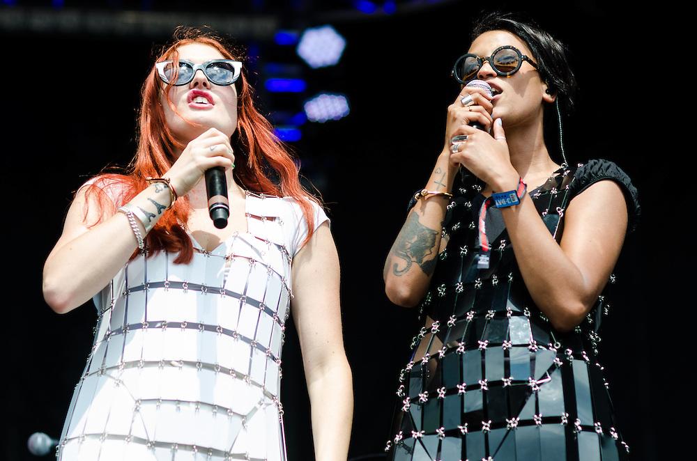 Icona Pop at Lollapalooza