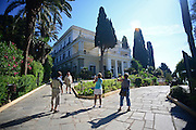 The Achilleion Palace in Village of Gastouri (Sisi's beloved Greek summer palace), Corfu, Greece