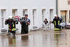 JUNE 03 2013 Floods in Europe