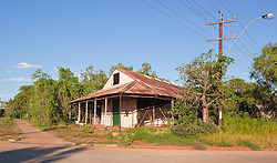 The old Bourne and Inglis Store on Hamersley Street, Broome.