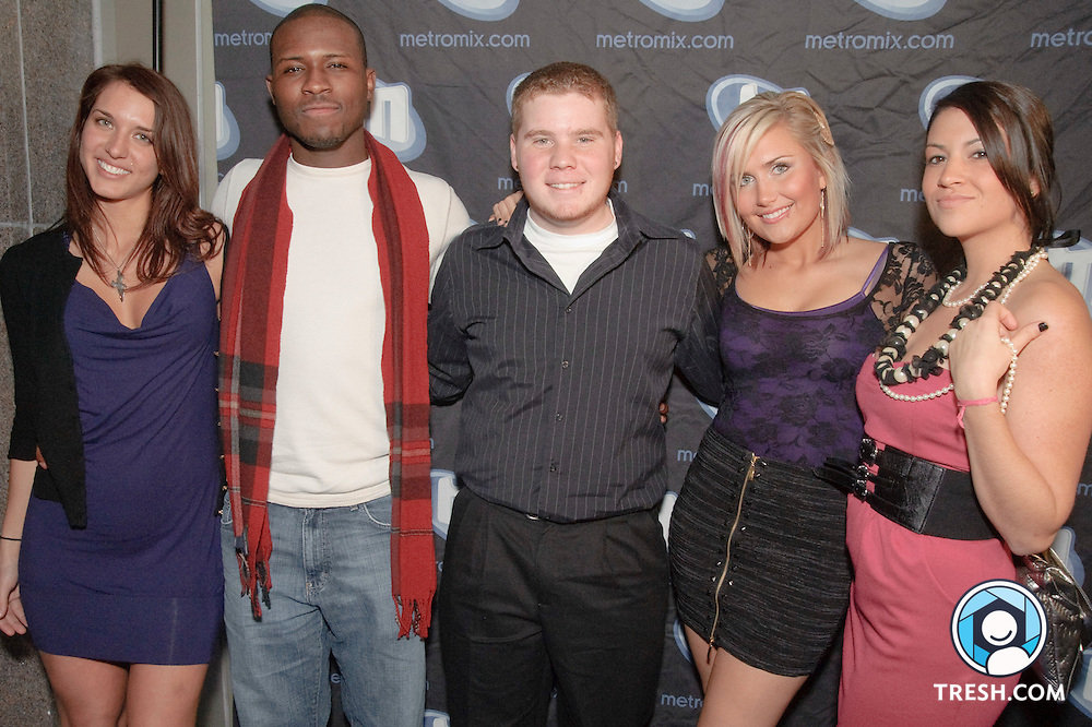 """Four of eight cast members of MTV's """"The Real World: Washington D.C."""" meet with media prior to a showing of the premiere episode at BlackFinn DC, Wednesday December 30, 2009."""