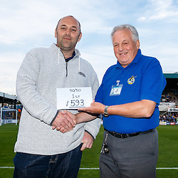 50/50 draw first prize winner - Mandatory byline: Rogan Thomson/JMP - 07966 386802 - 31/07/2015 - FOOTBALL - Memorial Stadium - Bristol, England - Bristol Rovers v West Bromwich Albion - Phil Kite Testimonial Match.