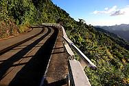 La Farola Highway, Guantanamo, Cuba.