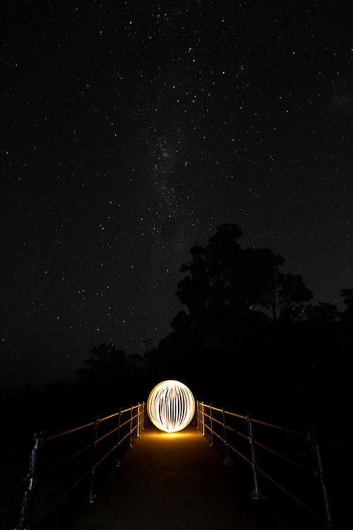 Orb under the stars