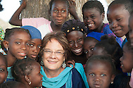 Molly Melching, USA, selected as a World's Children's Prize Child Rights Hero for her 40-year struggle to end female genital cutting, child marriage and forced marriage, across six nations in West Africa.
