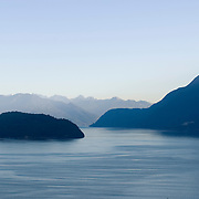 Howe Sound, between Whistler and Vancouver, British Columbia, Canada