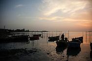 Evening boats in Niquero, Granma, Cuba.