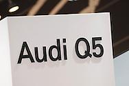 Audi Q5 sign.Media Preview .Melbourne International Motorshow.Melbourne Exhibition Centre.Clarendon St, Southbank, Melbourne .Friday 27th of February 2009.(C) Joel Strickland Photographics.