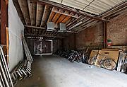 Rose Place Garage behind Brewer Street Studio