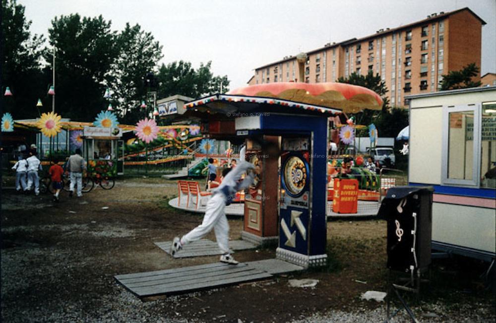 Milan, Fair at Ronchetto dei Navigli.