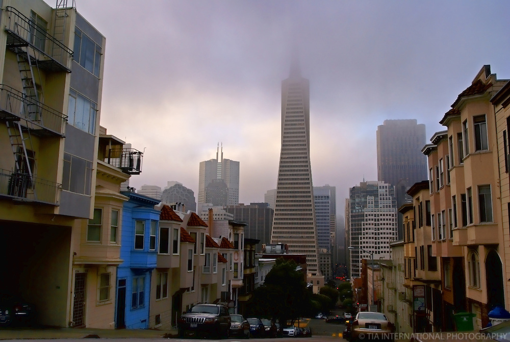 Foggy Downtown SF