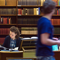 UK. Scotland. National Library of Scotland in Edinburgh..Photo©Steve Forrest/Workers Photos
