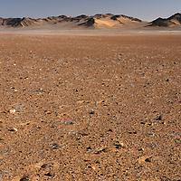 Landscape near Serra Cafema Camp, Wilderness Safaris, Kaokoland, Kunene Region, Namibia