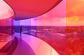 Your Rainbow Panorama by Olafur Eliasson, ARoS Aarhus Kuntsmuseum, Denmark