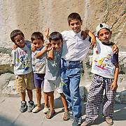 Friendly boys in Amasya, Central Turkey.