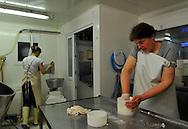 07/05/12 - SAULZET LE FROID - PUY DE DOME - FRANCE - GAEC de la Ligulaire, fabrication de tomme d Auvergne - Photo Jerome CHABANNE