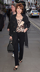 Kathy Lette attends James Freedman: Man of Steal Press Night at Trafalger Studios, Whitehall, London on Friday 29 May 2015