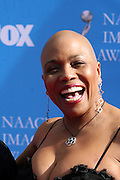 Didi Bridgewater arriving at The 39th Annual NAACP IMAGE AWARDS held at the Shrine Auditorium in Los Angeles, Calaifornia on February 14, 2008