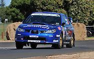 Dean HERRIDGE & Glen WESTON .Subaru  Impreza WRX Sti.Motorsport-Rally/2009 Forest Rally .Shakedown .3rd of April 2009.Busselton Foreshore, Busselton, Western Australia.(C) Joel Strickland Photographics