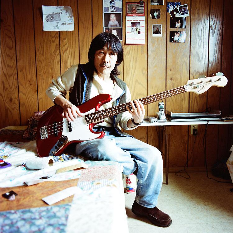 NEWTOK, ALASKA - 2010: John Peter John.