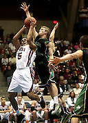 Jordan Dartis shoots the ball in Saturday?s Division I district finals against Dublin Coffman at the Ohio Expo Center Coliseum. The Wildcats lost 61-50.<br />  Jessica Phelps/Newark Advocate<br /> Joran Dartis shoots the ball in the Division I District finals against Dublin Coffman. The Wildcats lost 50-61.