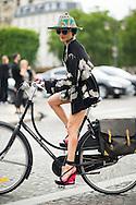 Catherine Baba at Dior